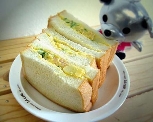 サンドイッチ、つくったーー!!!